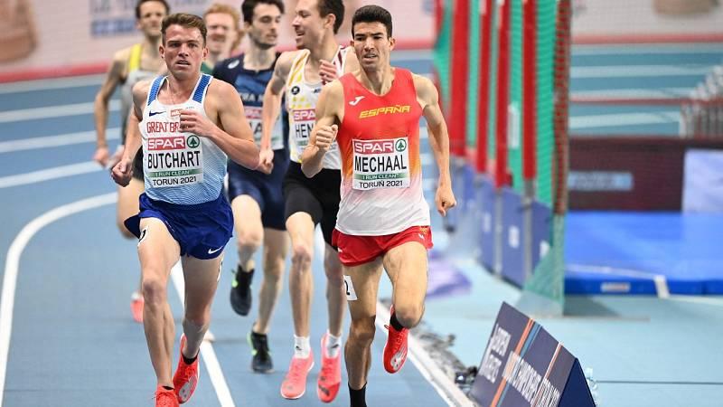 Adel Mechaal, bronce europeo en los 3.000m