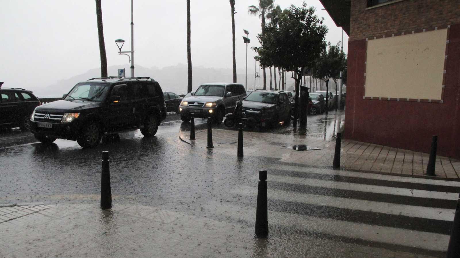 Fuertes lluvias e inundaciones en el sur y este de la Península