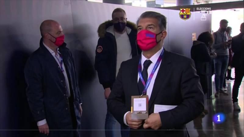 L'alta participació marca la jornada electoral al FC Barcelona