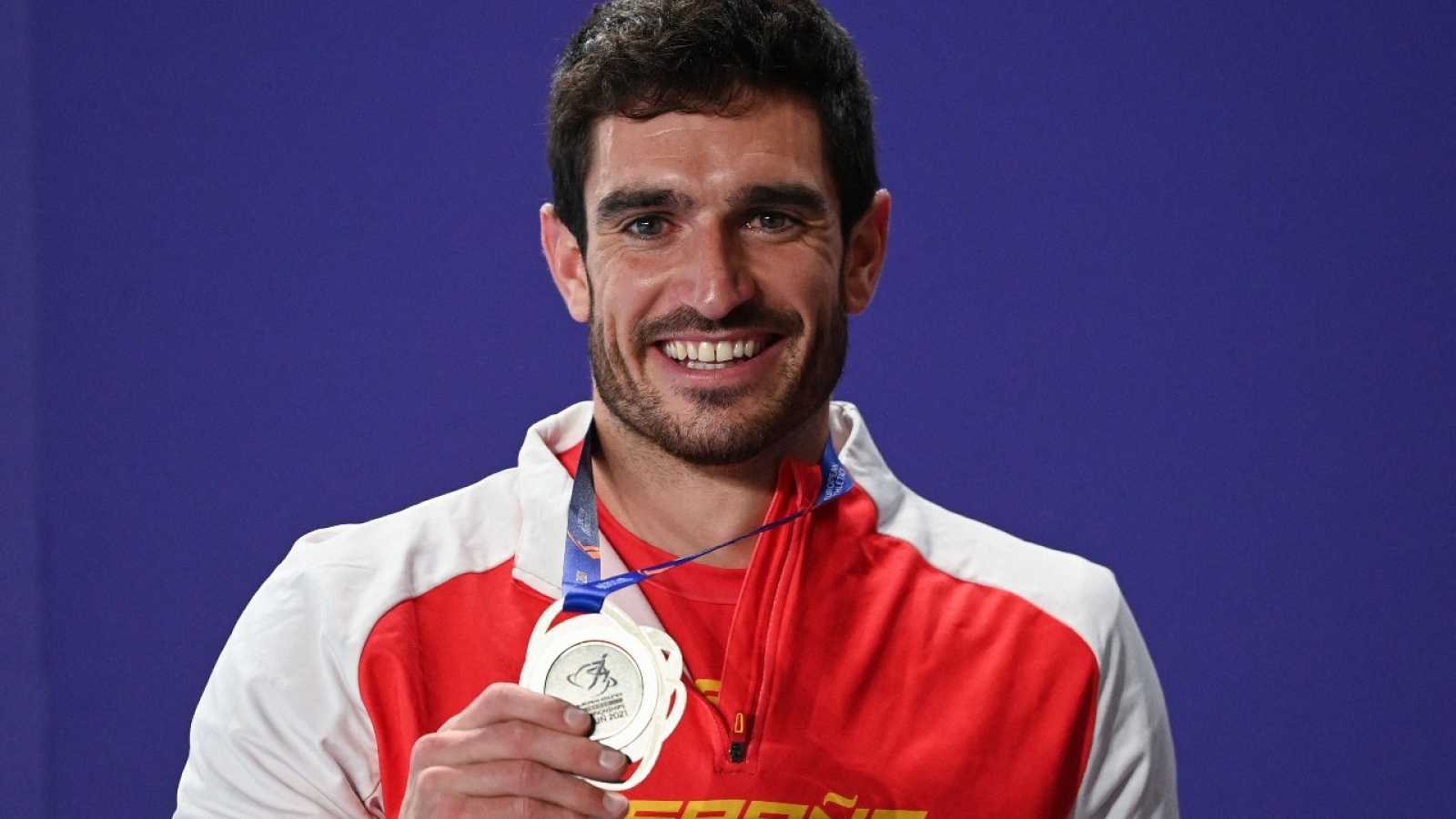 Jorge Ureña, plata en el heptatlón de Torun 2021