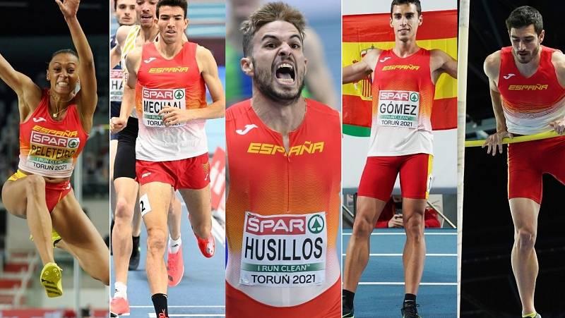 Las 5 medallas del atletismo español en Torun
