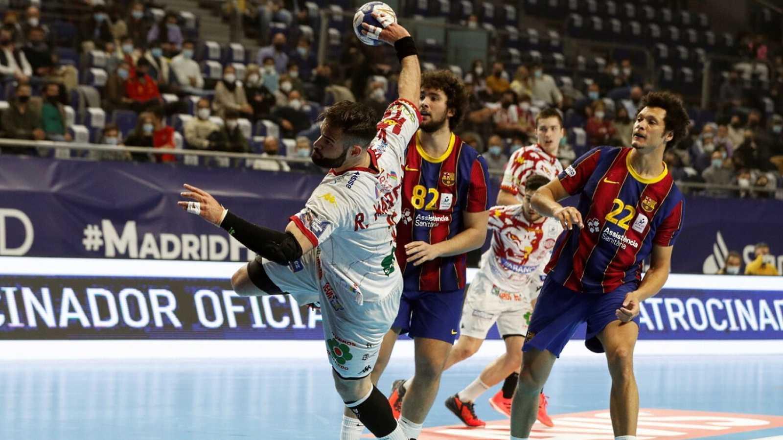Balonmano - Copa del Rey. Final: Barça - Abanca Ademar León - ver ahora