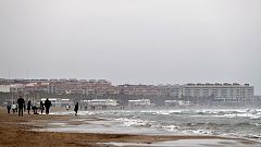 Cielos nubosos con precipitaciones localmente fuertes en el sureste peninsular e Ibiza