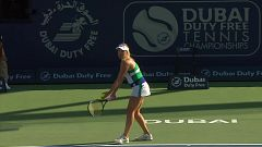Tenis - WTA Torneo Dubai: A. Pavlyuchénkova - V. Kudermétova