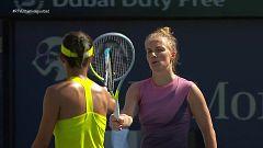 Tenis - WTA Torneo Dubai: Wang Q. - S. Kuznetsova