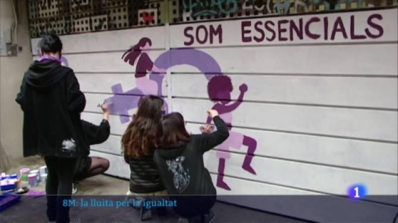 L'Informatiu - Jornada 8M: La lluita per la igualtat