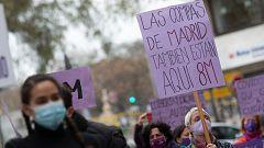 El feminismo vive un 8M marcado por la pandemia y la prohibición de manifestaciones en Madrid