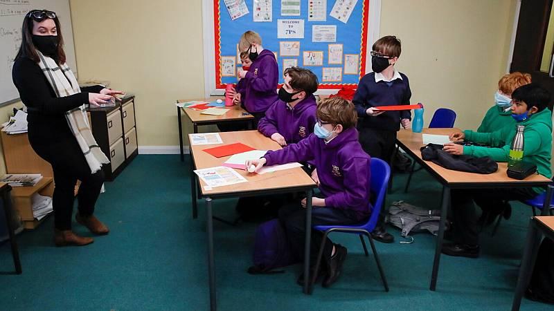 Reabren los colegios en Inglaterra