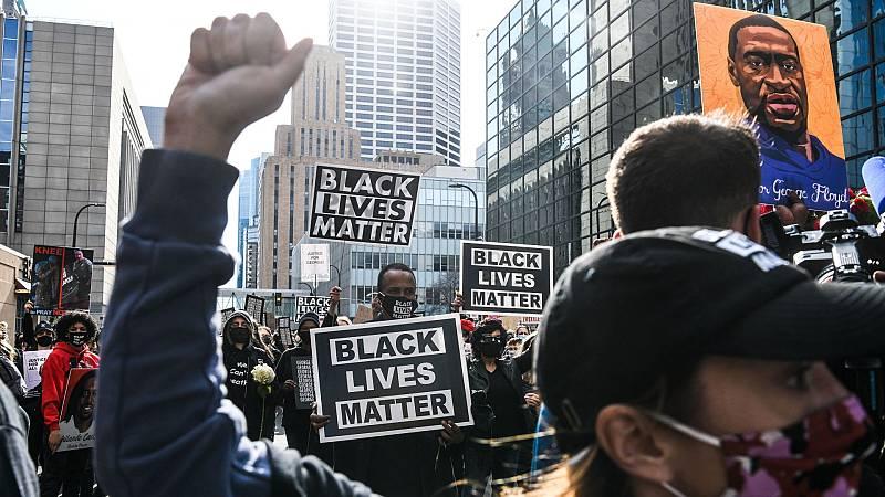 Vuelven las protestas antirracistas en EE.UU. antes del juicio por la muerte de George Floyd