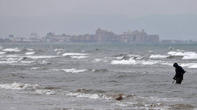 Precipitaciones persistentes en el entorno de la Comunidad Valenciana, sudeste peninsular y Baleares - Ver ahora