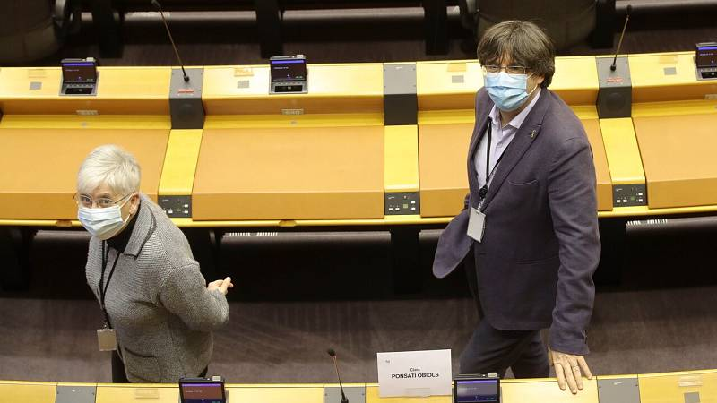 El Parlamento Europeo vota sobre la inmunidad de Puigdemont, Comín y Ponsatí