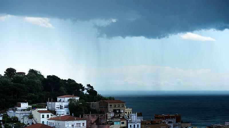 Precipitaciones en amplias zonas de la península - Ver ahora