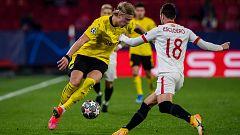 El Sevilla, a remontar en casa del Dortmund para seguir en Champions