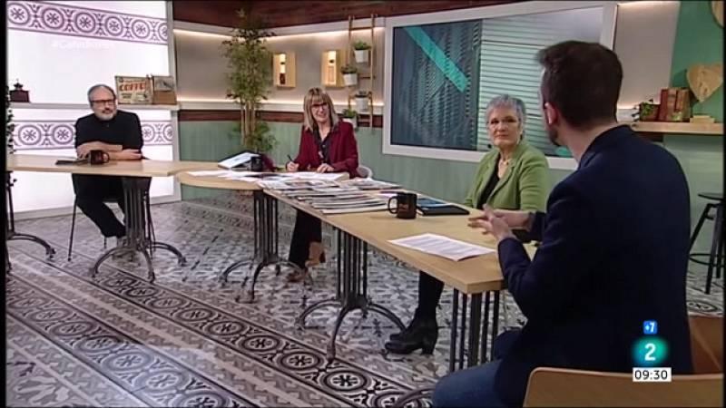Joan Tardà, Javi López i Gerard Esteva