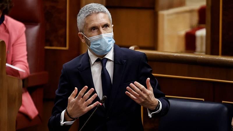 """Vox tilda a Marlaska de """"miserable"""" y el ministro le recuerda cuando abogaba por negociar con ETA"""
