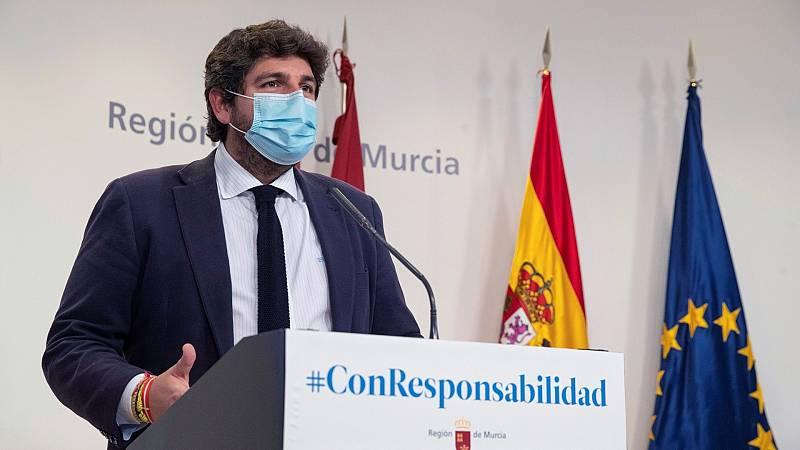 PSOE y Ciudadanos en Murcia lanzan una moción de censura contra López Miras