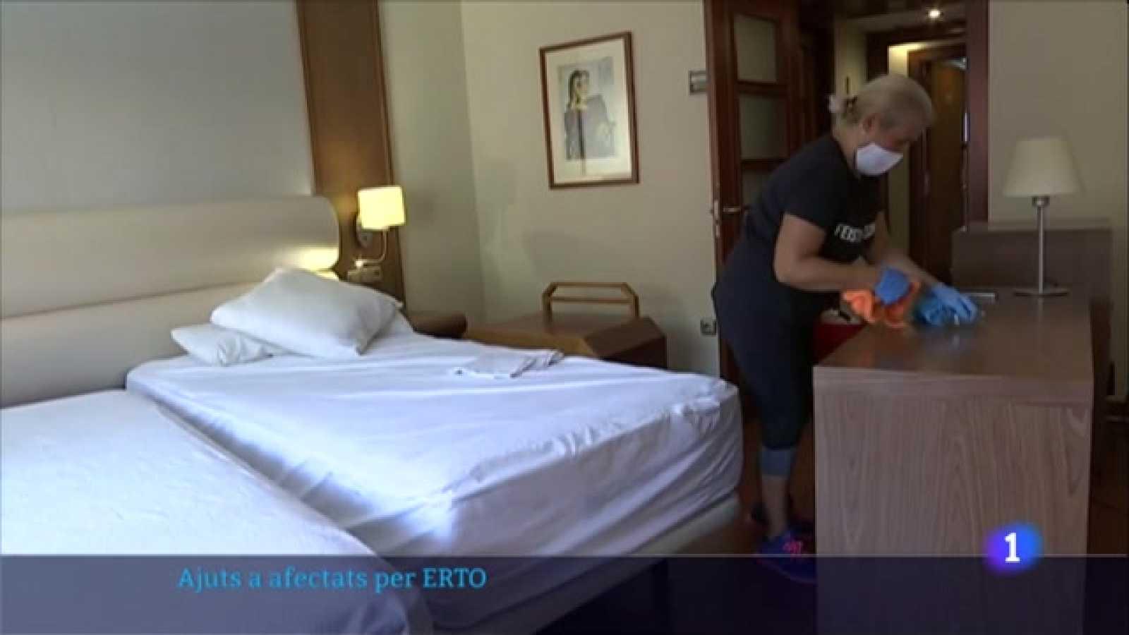Els treballadors en ERTO rebran un màxim de 900 euros