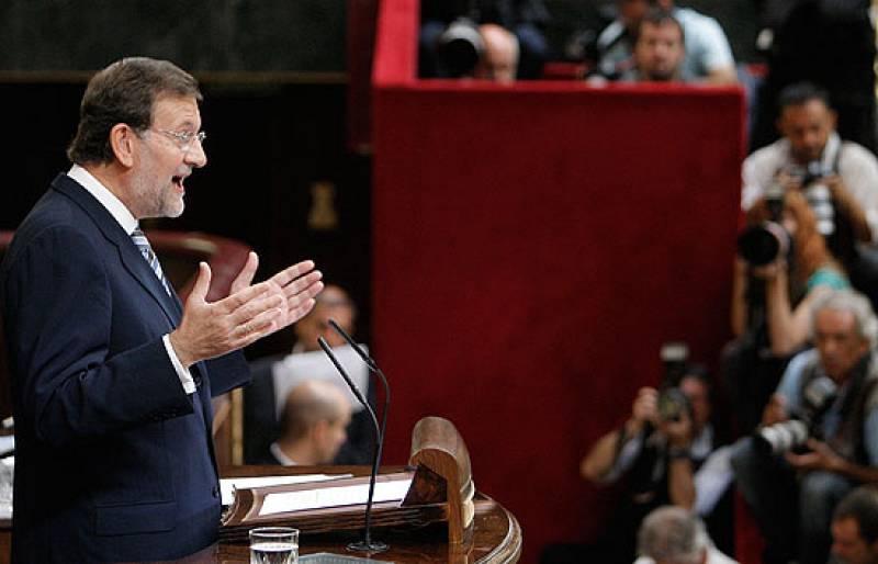 """Rajoy afirma que """"no hay subida capaz de tapar el agujero"""" que ha creado el Gobierno de Zapatero"""