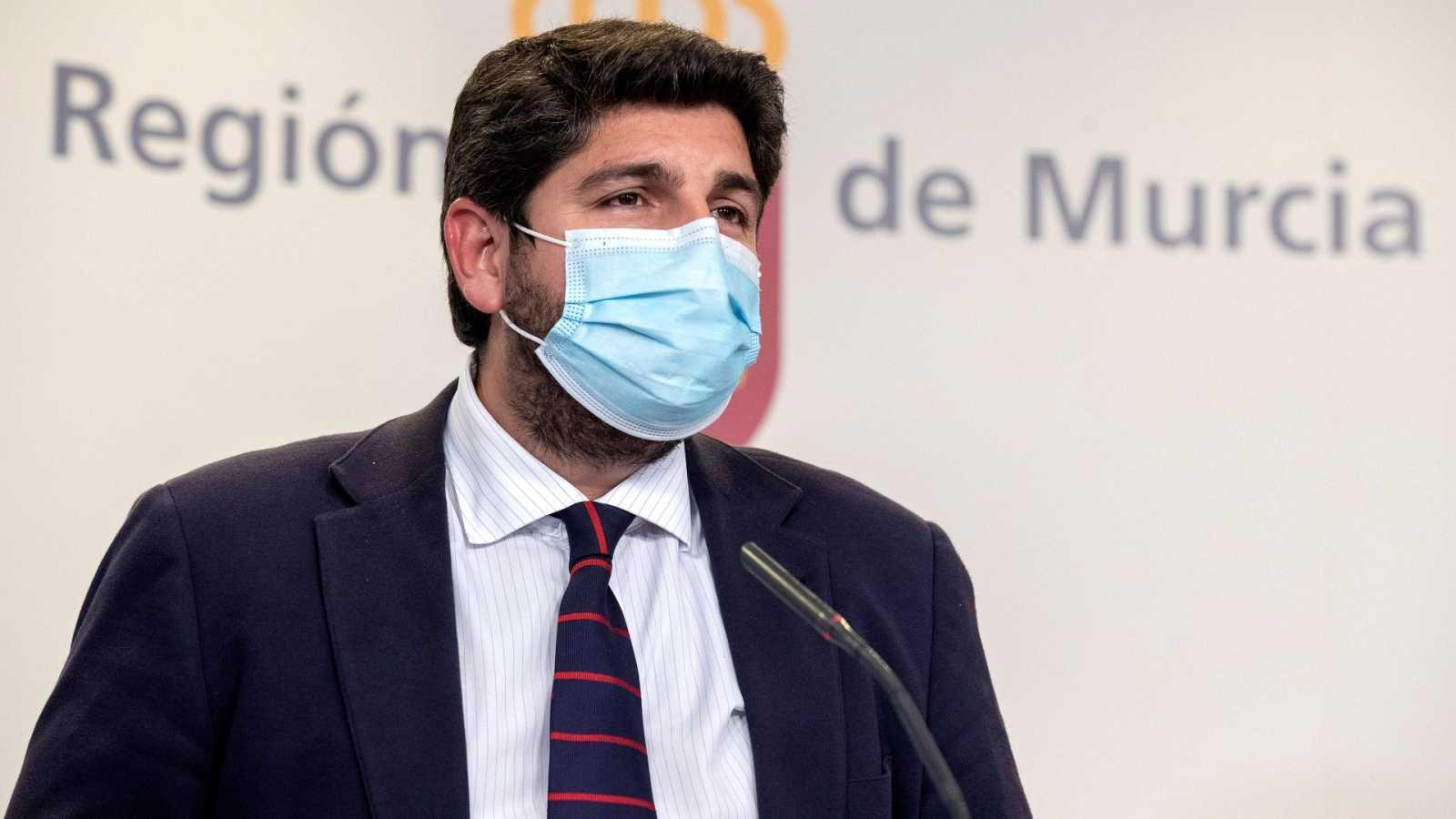 Ciudadanos rompe su pacto con el PP en Murcia y presenta una moción de censura junto al PSOE