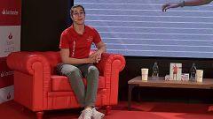"""Carolina Marín: """"Mi objetivo principal siguen siendo los Juegos, sigo con los pies en el suelo"""""""