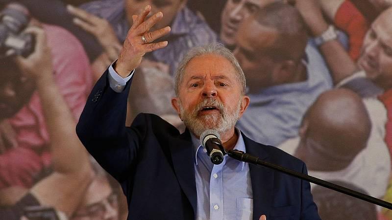 Lula reaparece defendiendo su inocencia y criticando a Bolsonaro