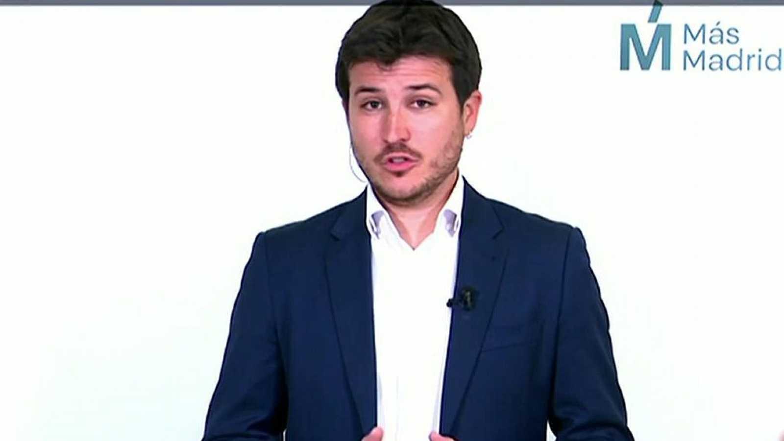 """Gómez Perpinyá: """"Ayuso ha intentado convocar elecciones tres horas después del registro de la moción de censura"""""""