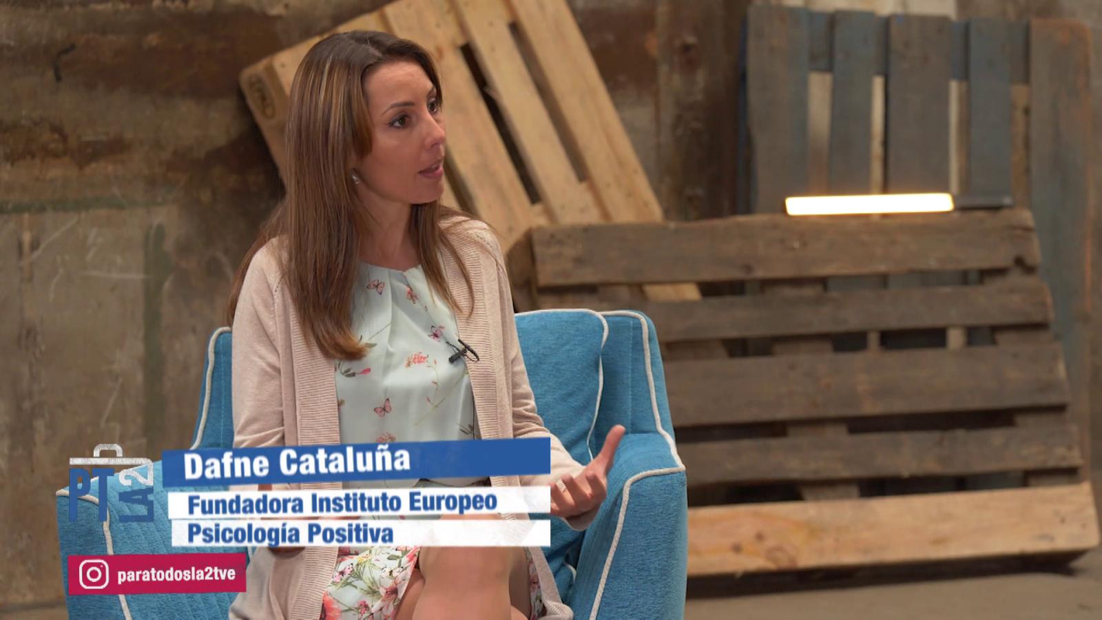 Psicología positiva. Entrevista a Dafne Cataluña