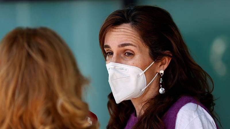"""Mónica García, portavoz de Más Madrid: """"Hay un deseo de Ayuso de gobernar con VOX, nada más"""""""