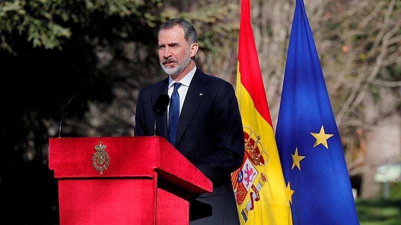 """Felipe VI aboga por la unidad frente al terrorismo """"venga de donde venga"""""""