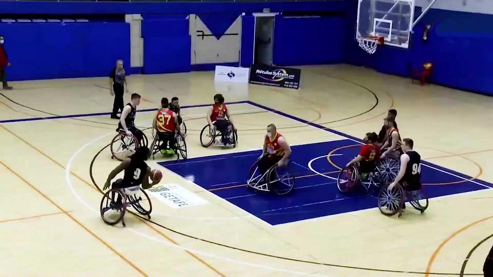 Baloncesto en silla de ruedas - Liga BSR División honor. Resumen jornada 15 - ver ahora