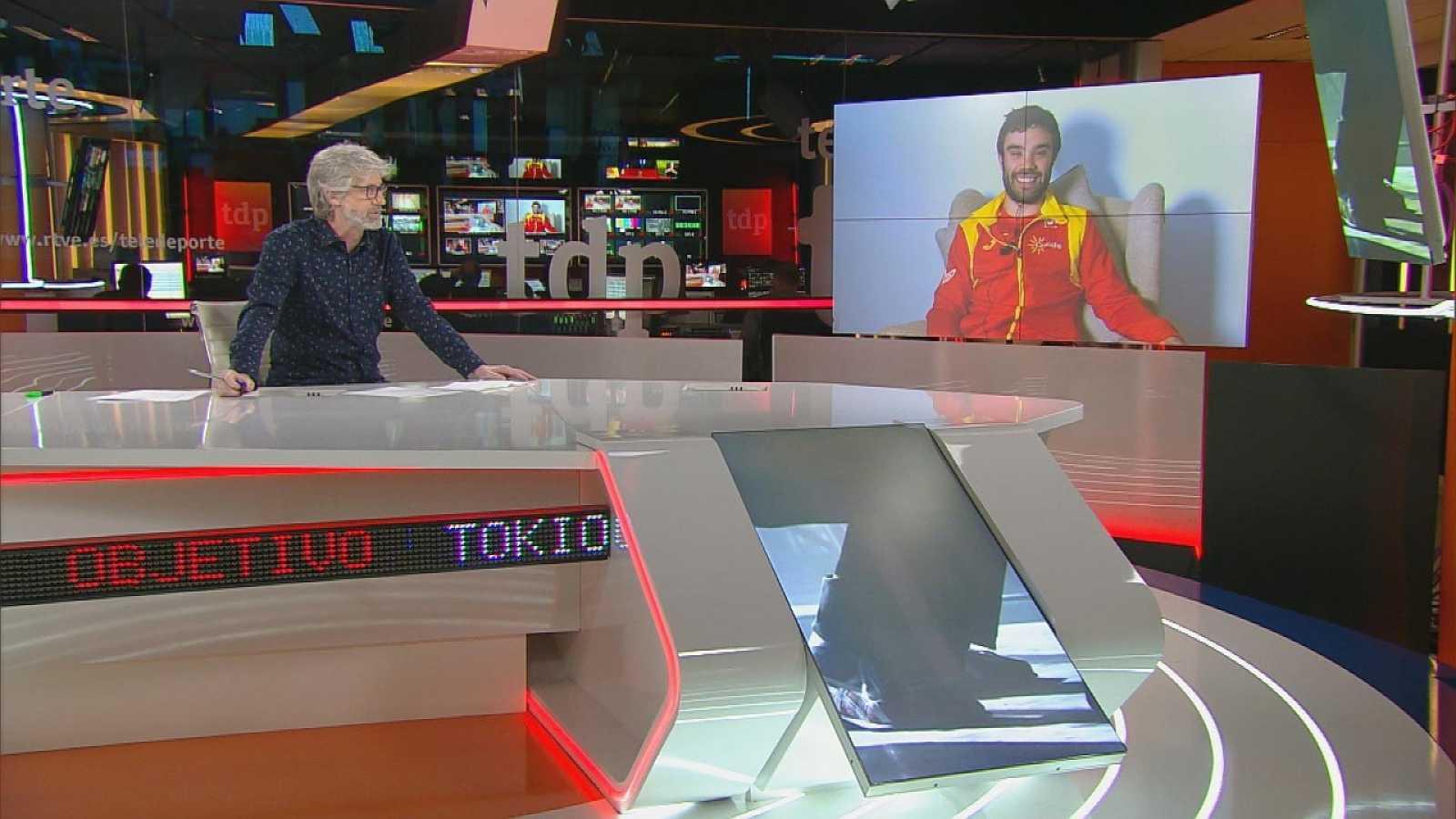 Objetivo Tokio - Programa 142 Paralímpicos: Gonzalo García Abella, ciclista del equipo paralímpico español y preseleccionado para los Juegos de Tokio 2020 - ver ahora