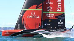 Vela - Copa América 2021: 4ª regata (Auckland)