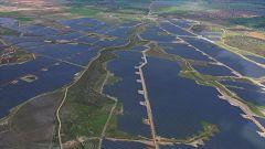 Placa fotovoltaica más grande de Europa, un tesoro oculto en Badajoz