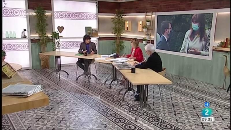 Josep Maria Argimon, constitució del parlament i 'Nevenka'