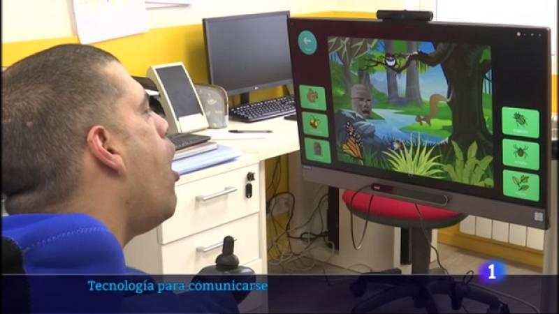 Las personas con parálisis cerebral se apoyan en la tecnología para comunicarse