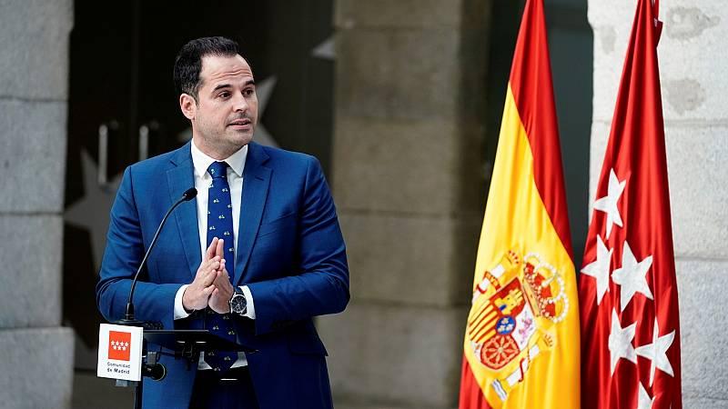 """Aguado: """"Quiero presidir la Comunidad de Madrid porque no puede estar en manos de VOX, que es lo que quiere Ayuso"""""""