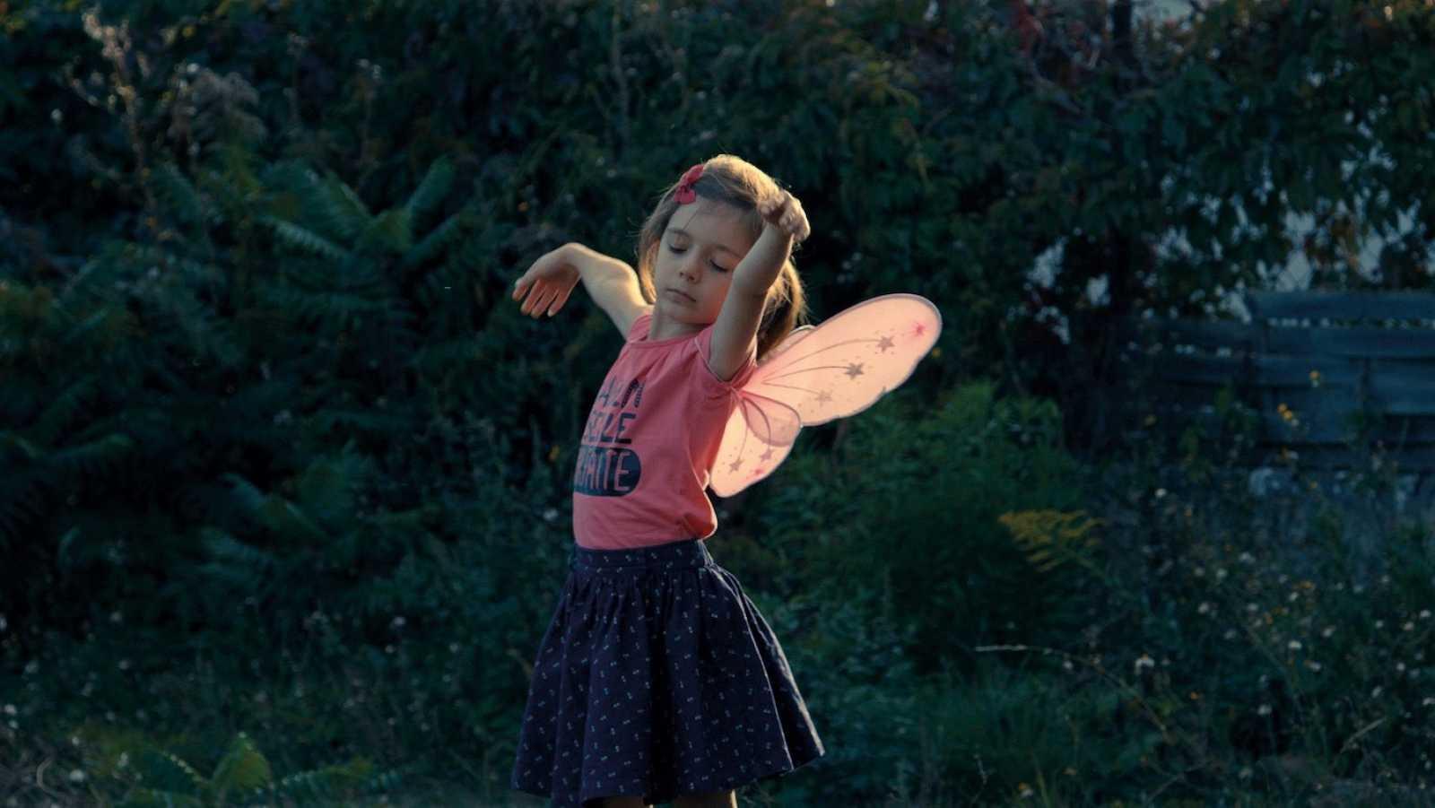 'Una niña'