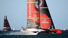 Vela - Copa América 2021: Final 6ª regata (Auckland): Luna Rossa Prada Pirelli - Emirates Team New Zealand