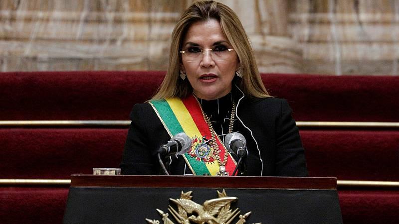 Detenida la expresidenta de Bolivia Jeanine Añez