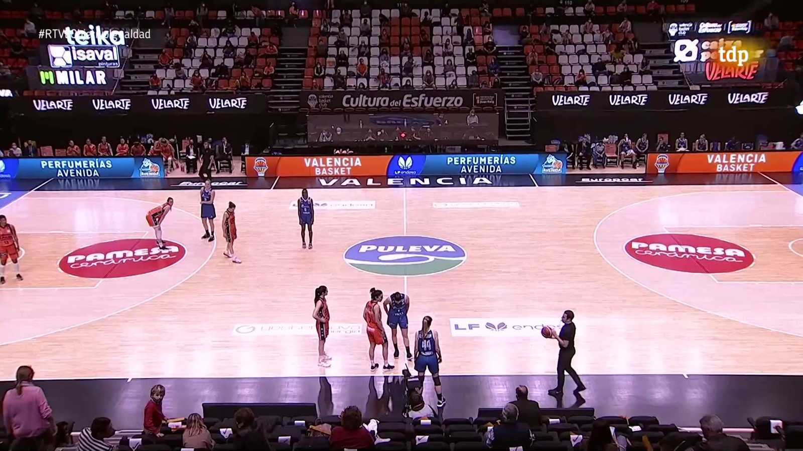 Baloncesto - Liga femenina Endesa. 28ª jornada: Valencia Basket - Perfumerías Avenida - ver ahora