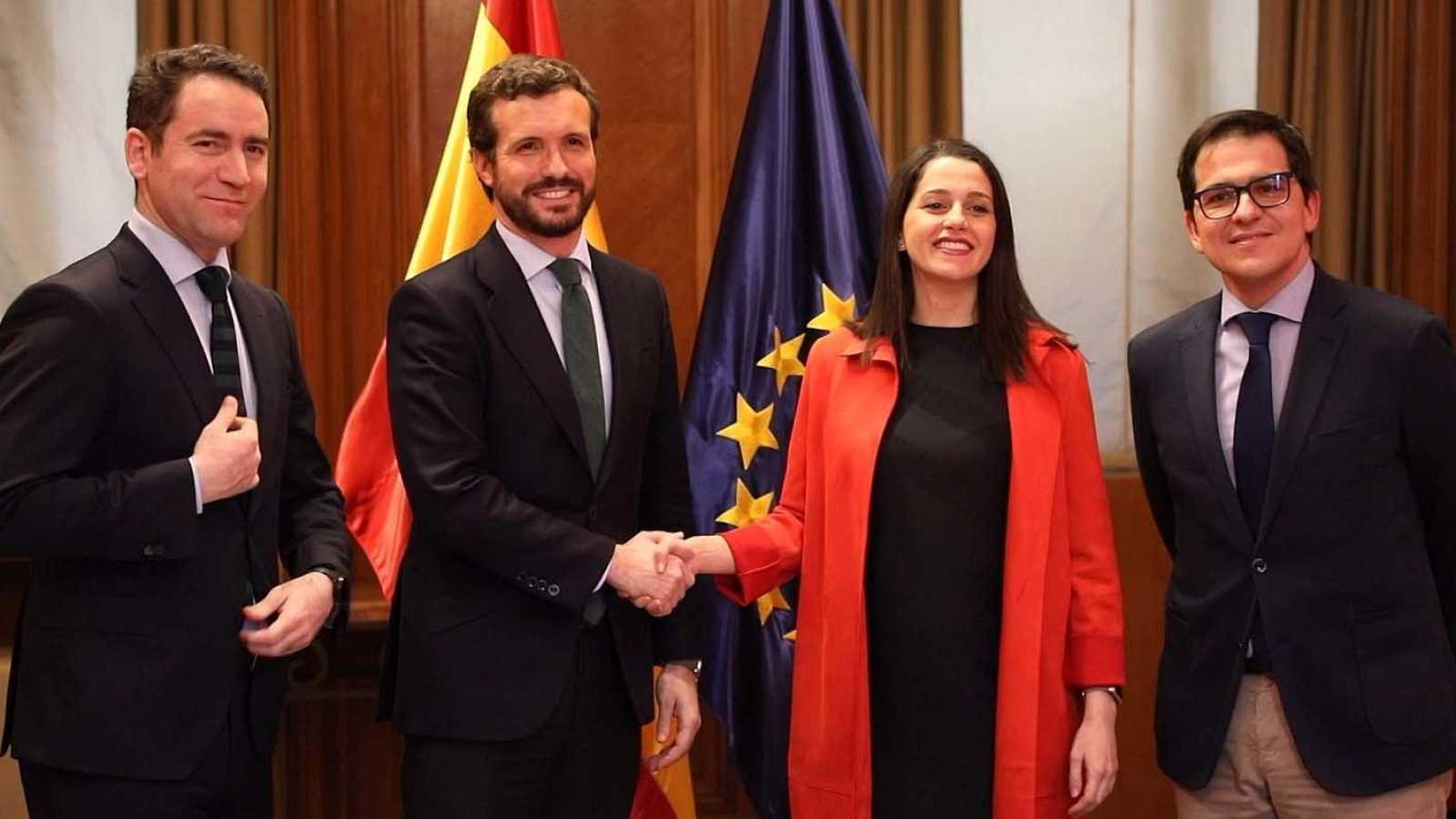 Cs y PP rompen relaciones tras las crisis de Madrid y Murcia