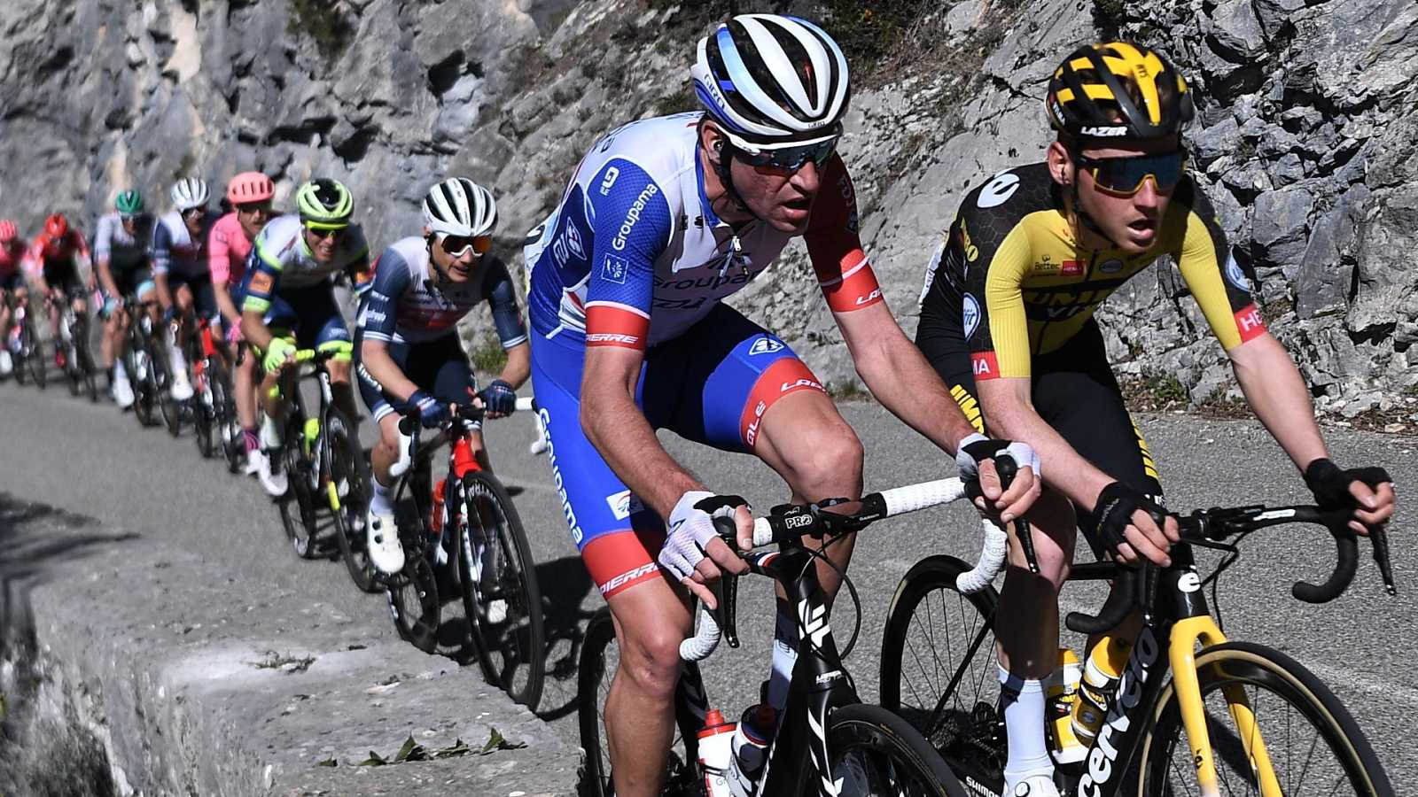 Ciclismo - París - Niza. 8ª etapa: Le Plan du Var - Levens - ver ahora