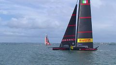 Vela - Copa América 2021: Final 8ª regata (Auckland): Luna Rossa Prada Pirelli - Emirates Team New Zealand