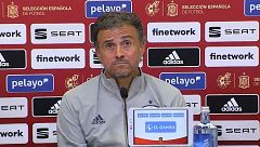 Rueda de prensa íntegra del Luis Enrique previa al inicio de la clasificación para Catar 2020
