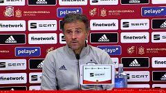 Fútbol - Rueda de prensa: Convocatoria Luis Enrique, Seleccionador Nacional Absoluto
