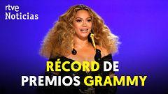 Beyoncé, la cantante femenina con más Grammy de toda la historia