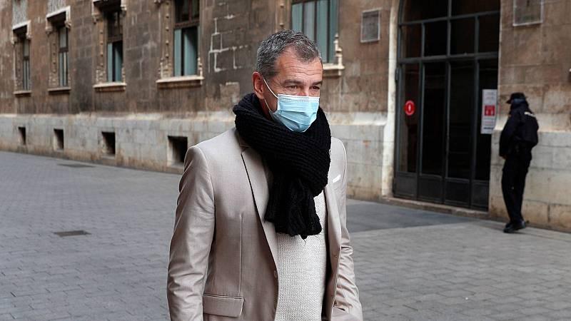 Toni Cantó deja sus cargos en Ciudadanos tras los acontecimientos en Madrid y Murcia