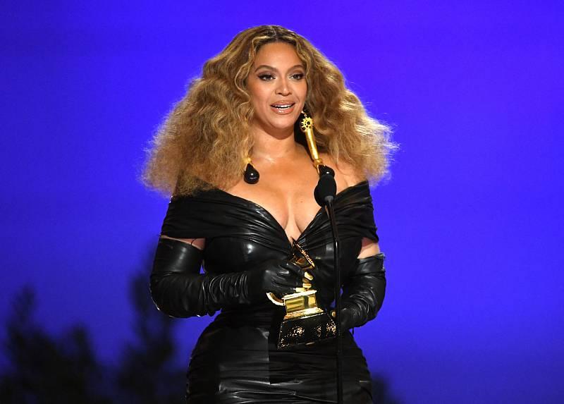 Imagen de la actuación de Beyoncé