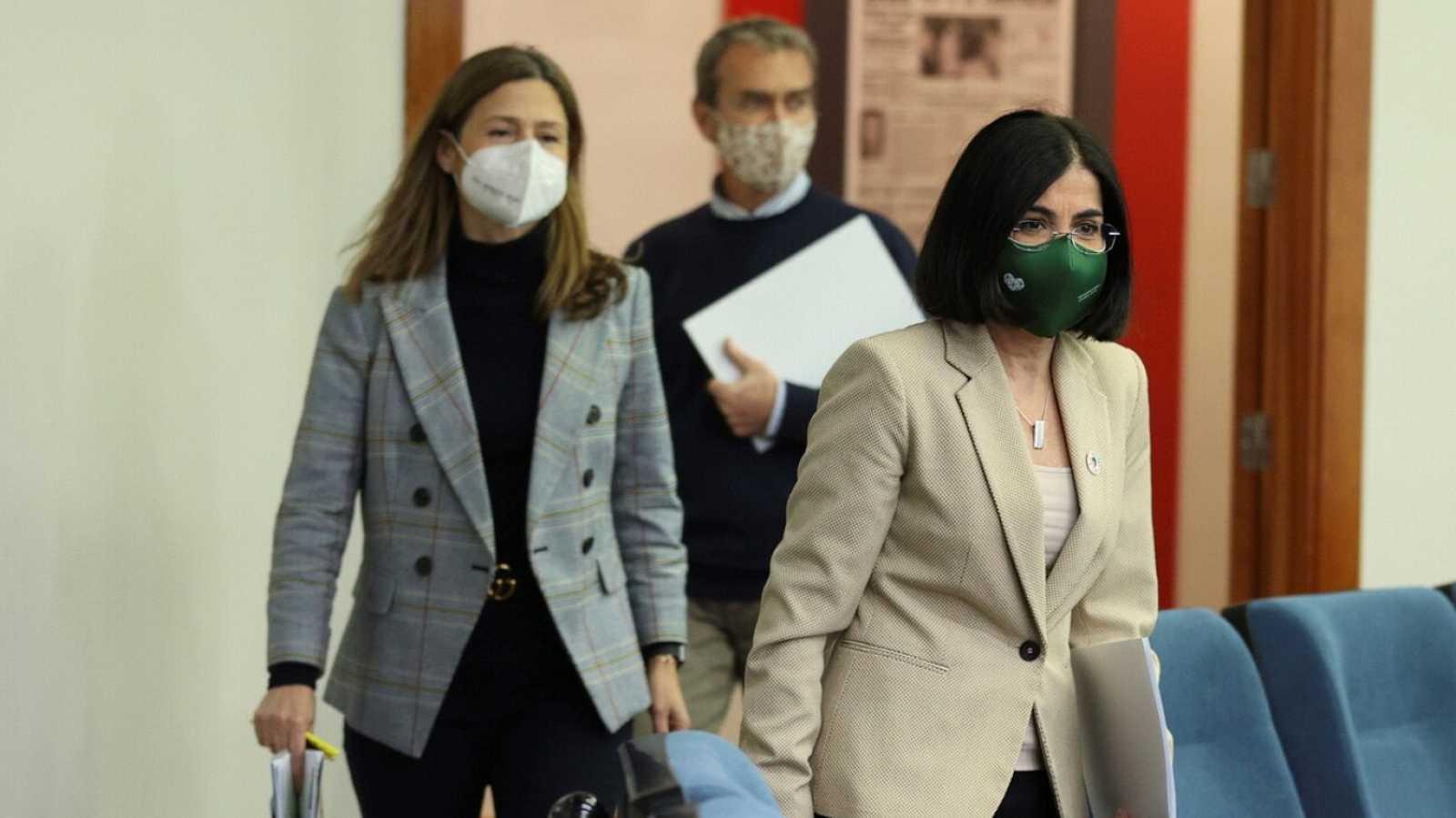 Especial informativo - Comparecencia de la ministra de Sanidad, la directora de la Agencia Española del Medicamento, y el director del Centro de Coordinación de Alertas y Emergencias Sanitarias - 15/03/21 - ver ahora