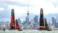 Vela - Copa América 2021: Final 9ª regata (Auckland): Luna Rossa Prada Pirelli - Emirates Team New Zealand